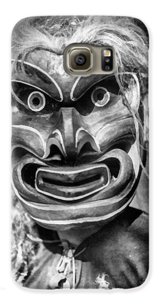Voodoo Galaxy S6 Case - Pgwis Qagyuhl Indian Mask by Vincent Monozlay