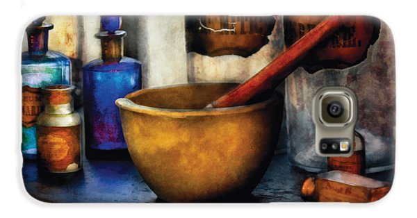 Wizard Galaxy S6 Case - Pharmacist - Mortar And Pestle by Mike Savad