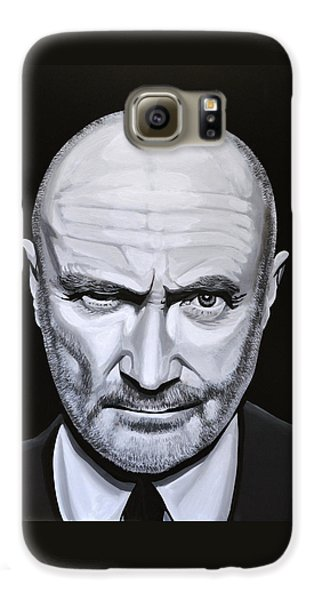 Trumpet Galaxy S6 Case - Phil Collins by Paul Meijering