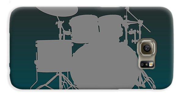 Philadelphia Eagles Drum Set Galaxy S6 Case by Joe Hamilton