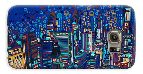Philadelphia Panorama Pop Art 2 Galaxy S6 Case