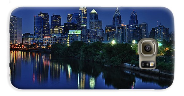 Philly Skyline Galaxy S6 Case by Mark Fuller