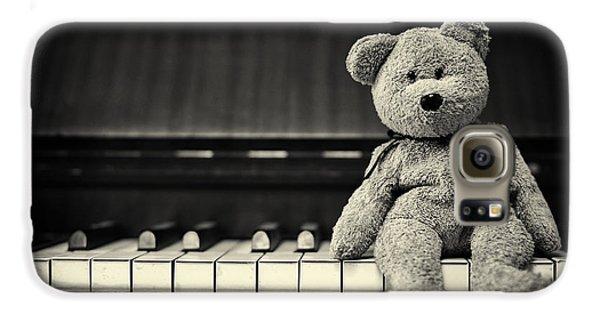 Piano Bear Galaxy S6 Case