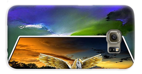 Picture A Pegasus Galaxy S6 Case by Marvin Blaine