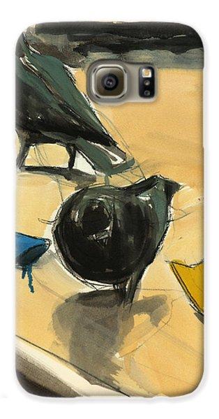 Pigeons Galaxy S6 Case by Daniel Clarke