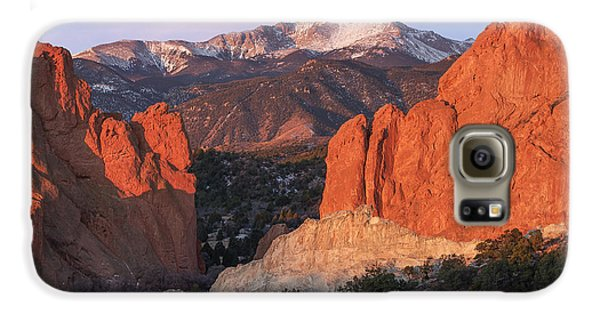 Pikes Peak Sunrise Galaxy S6 Case