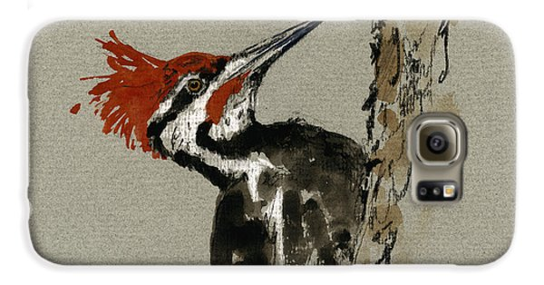 Pileated Woodpecker Galaxy S6 Case