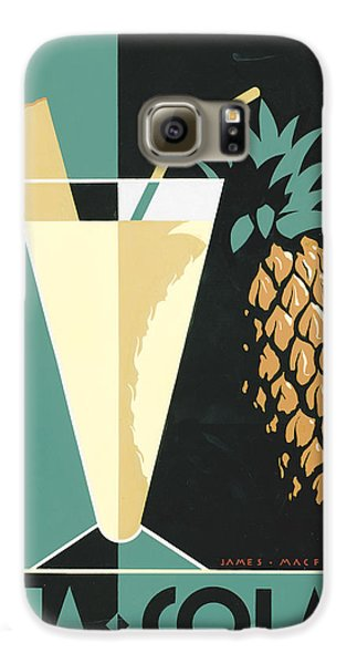 Pina Colada Galaxy S6 Case by Brian James