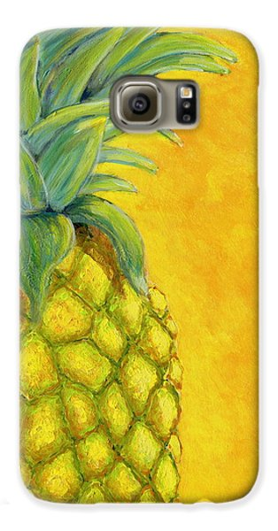 Pineapple Galaxy S6 Case by Karyn Robinson