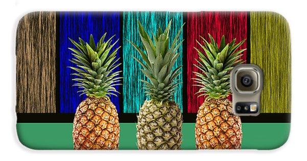 Pineapples Galaxy S6 Case by Marvin Blaine