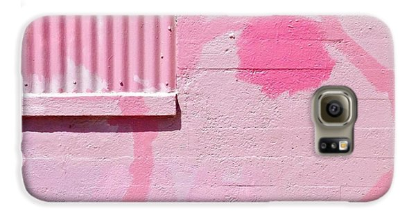 Colorful Galaxy S6 Case - Pink Detail by Julie Gebhardt