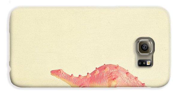 Pink Dinosaur Galaxy S6 Case
