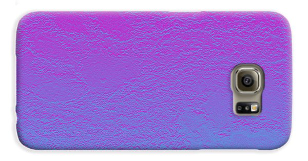 Pink Purple Blue Galaxy S6 Case