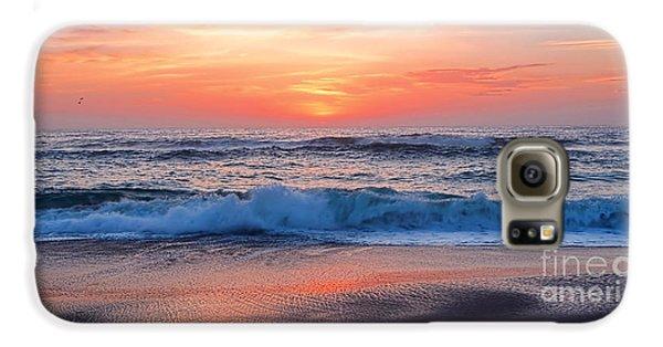 Pink Sunrise Panorama Galaxy S6 Case