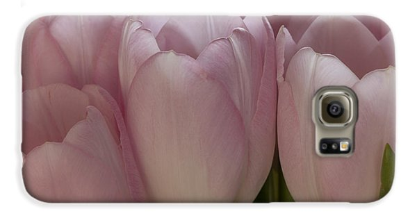Pink Tulips Galaxy S6 Case