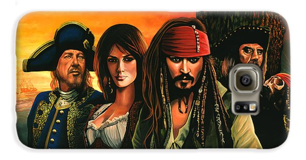 Pirates Of The Caribbean  Galaxy S6 Case by Paul Meijering