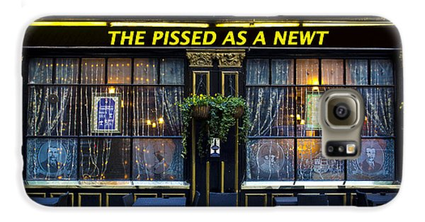 Pissed As A Newt Pub  Galaxy S6 Case by David Pyatt