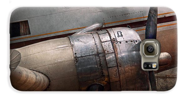 Airplanes Galaxy S6 Case - Plane - A Little Rough Around The Edges by Mike Savad