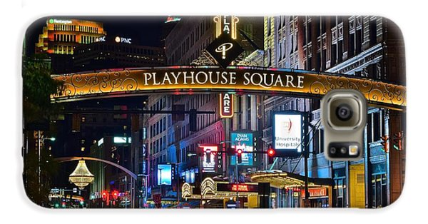 Playhouse Square Galaxy S6 Case by Frozen in Time Fine Art Photography