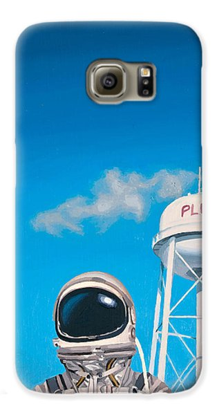 Space Galaxy S6 Case - Pluto by Scott Listfield