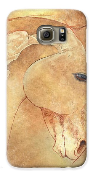 Horse Galaxy S6 Case - Poll Meet Atlas Axis by Catherine Twomey