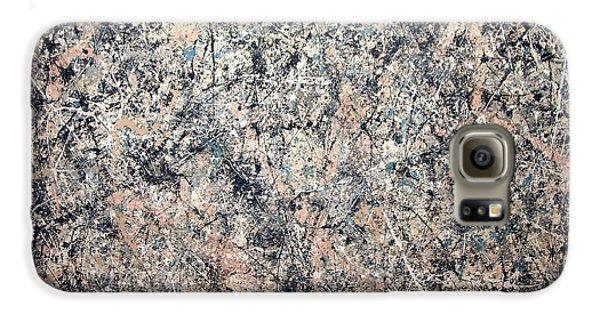 Washington D.c Galaxy S6 Case - Pollock's Number 1 -- 1950 -- Lavender Mist by Cora Wandel