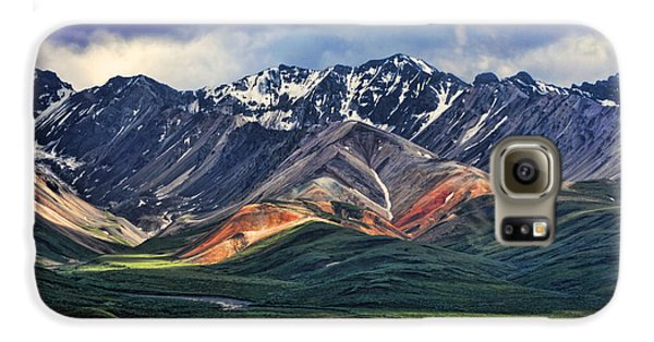 Mountain Galaxy S6 Case - Polychrome by Heather Applegate