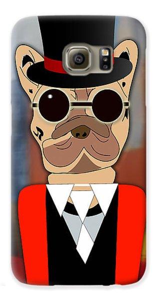 Pop Art French Bulldog Galaxy S6 Case by Marvin Blaine