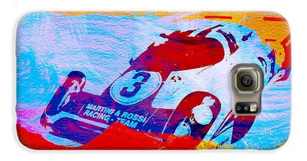 Martini Galaxy S6 Case - Porsche 917 Martini And Rossi by Naxart Studio