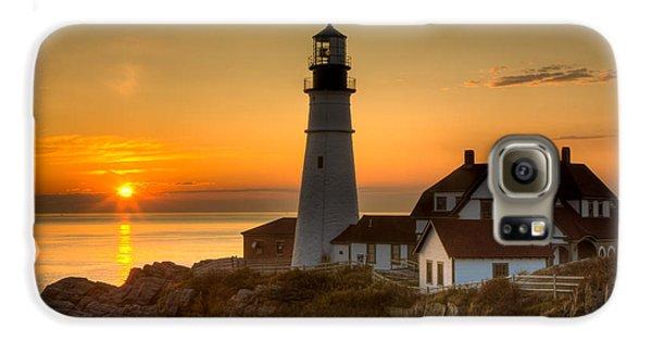 Portland Head Light At Sunrise II Galaxy S6 Case