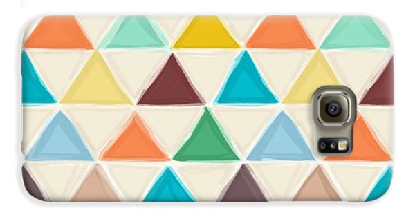 Portland Triangles Galaxy S6 Case by Sharon Turner