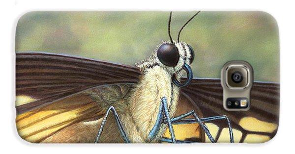 Aliens Galaxy S6 Case - Portrait Of A Butterfly by James W Johnson