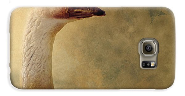 Portrait Of A Goose Galaxy S6 Case