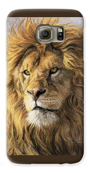 Lion Galaxy S6 Case - Portrait Of A Lion by Lucie Bilodeau