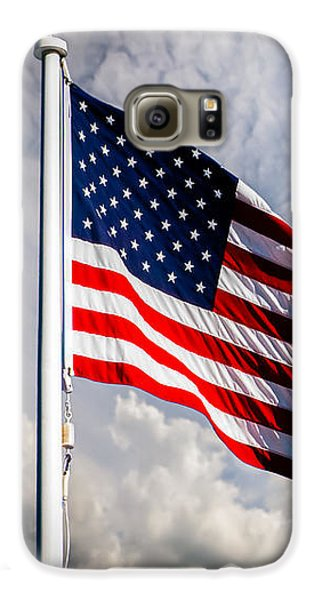 Portrait Of The United States Of America Flag Galaxy S6 Case