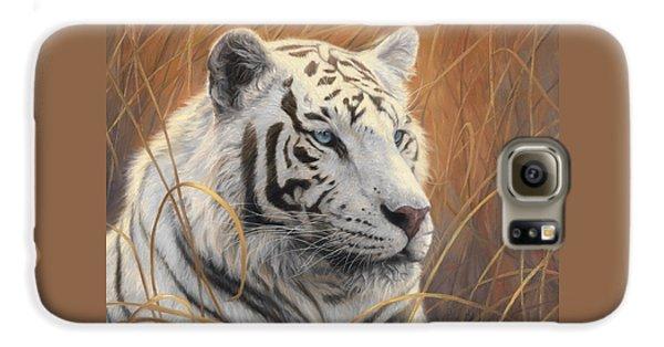 Portrait White Tiger 2 Galaxy S6 Case