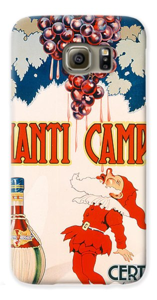 Poster Advertising Chianti Campani Galaxy S6 Case by Necchi