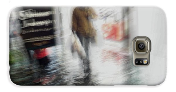 Galaxy S6 Case featuring the photograph Pounding The Pavement by Alex Lapidus