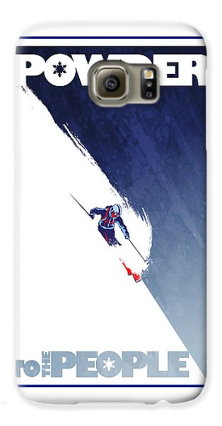 Sports Galaxy S6 Case - Powder To The People by Sassan Filsoof
