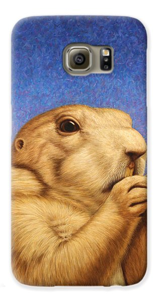 Dog Galaxy S6 Case - Prairie Dog by James W Johnson