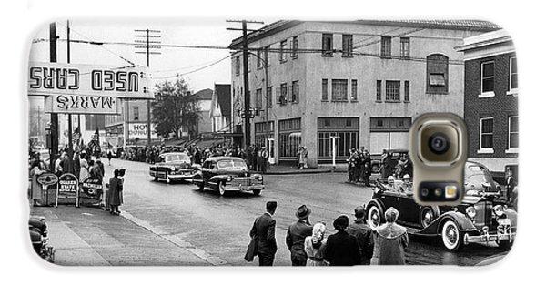 Pres. Roosevelt's Motorcade 1944 Galaxy S6 Case