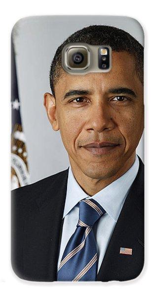 President Barack Obama Galaxy S6 Case by Pete Souza