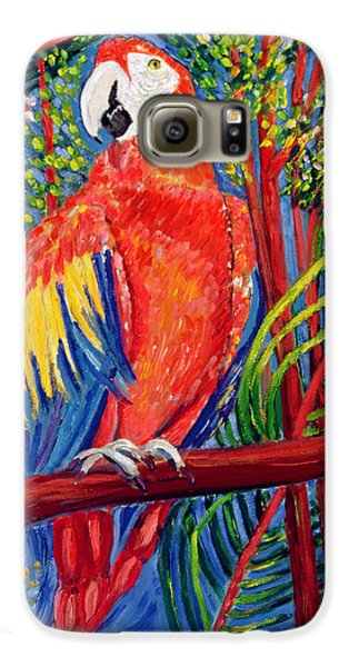 Macaw Galaxy S6 Case - Pretty Polly by Patricia Eyre