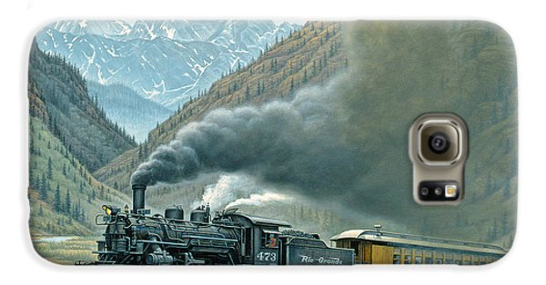 Pulling For Silverton Galaxy S6 Case by Paul Krapf