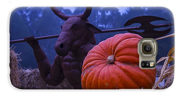 Pumpkin And Minotaur Galaxy S6 Case