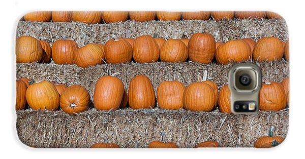 Pumpkin Galaxy S6 Case by Lora Lee Chapman