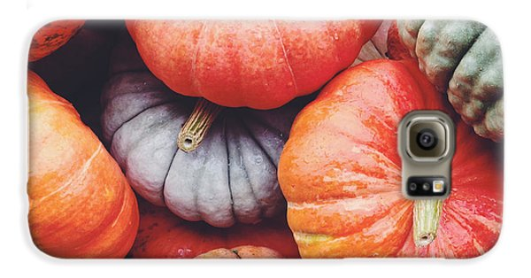 Pumpkins Galore Galaxy S6 Case by Kim Fearheiley