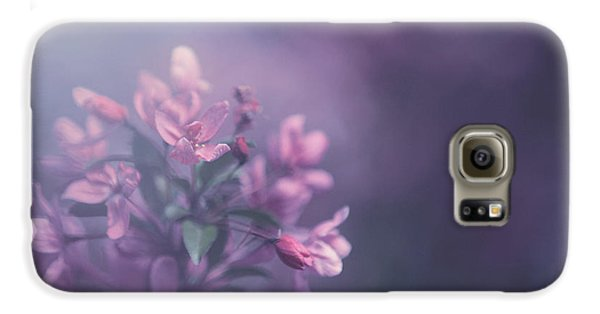 Flowers Galaxy S6 Case - Purple by Carrie Ann Grippo-Pike