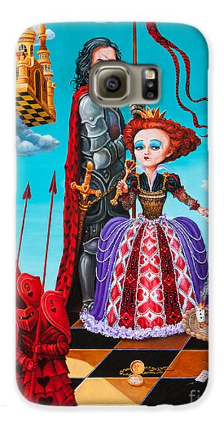 Queen Of Hearts. Part 1 Galaxy S6 Case