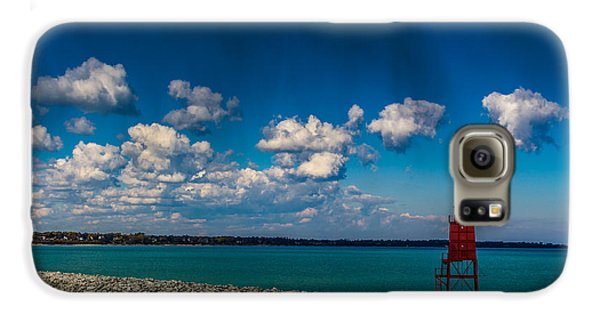 Racine Harbor Lighthouse Galaxy S6 Case